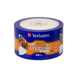 DVD-R Verbatim pqt de 50