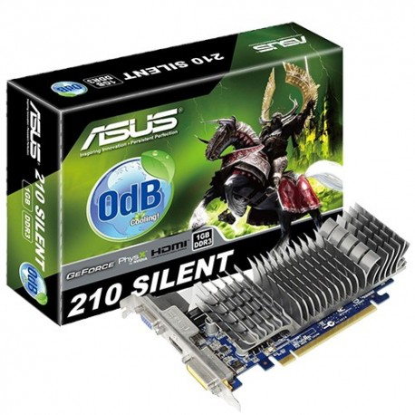 Carte Vidéo Asus 210 Silent 1 GB DDR3