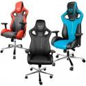 Chaise Gamer E-Blue Cobra Gaming (Bleu, Rouge ou noire)
