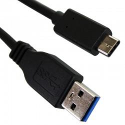 Cable USB 3.1 Male à USB C Male 3'