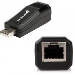 Adaptateur Réseau Compact USB 2.0 vers 1 Port Ethernet 10/100