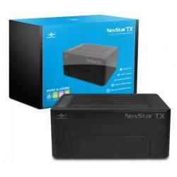 """Vantec Dual Bay 2.5/3.5"""" USB 3.0 Hard Drive Enclosure (NST-D428S3-BK)"""
