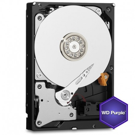 WD Hard Drive 6000GB PURPLE (6TB) SATA 3.5