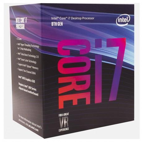 Intel® Core™ i7-7700 Processeur 8M Cache, jusqu'à 4.20 GHz