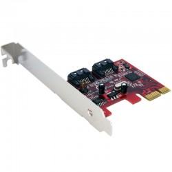 Carte contrôleur 2 ports SATA 6Gbps PCI Express SATA