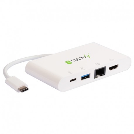 USB C 3.1 to HDMI/RJ45/USB A 3.0 dock