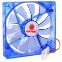 Ventilateur 140mm Coolmax Bleu LED