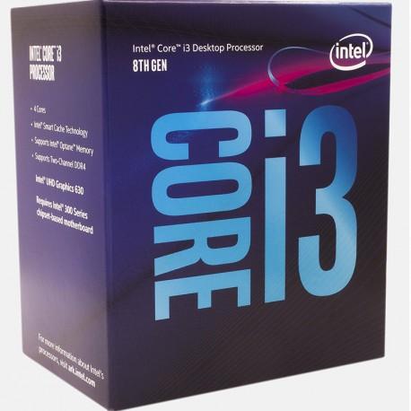Intel® Core™ i3-8100 Processor 6M Cache, 3.60 GHz