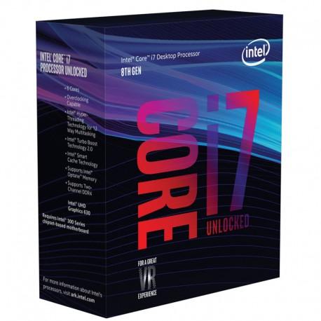 Intel® Core™ i7-8700K Processor 12M Cache, up to 4.70 GHz