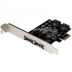 Carte contrôleur 2 ports SATA + 2 ports ESATA 6Gbps PCI Express SATA