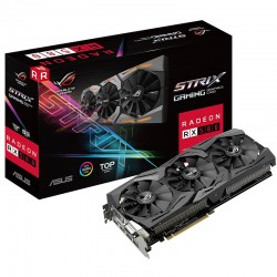 ASUS Video Card ROG Strix Radeon RX580 8GB