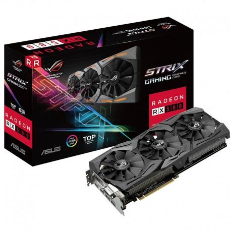 ASUS Video Card ROG Strix Radeon RX580 8GB