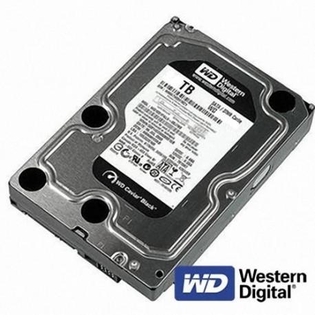 "Disque dur WD 1000GB (1TB) Interne Black Edition SATA 3.5"""
