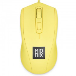 Mionix Mouse Avior for Gamer et Artists Yellow