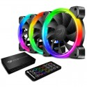 VORTEX RGB HBP 120 Cooling Fan Cougar Kit of 3 and HUB and Controller