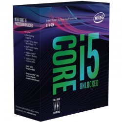 Intel® Core™ i5-8600K Processeur 9M Cache, jusqu'à 4.30 GHz