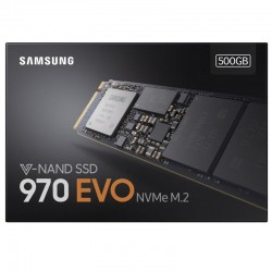 SAMSUNG 970 EVO M.2 500GB NVMe PCI-Express 3.0 x4 SSD