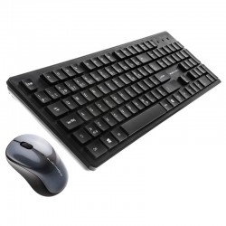 BlueDiamond Wireless Optical USB Mouse and Keyboard French