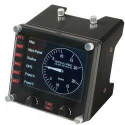 Flight Instrument Panel LCD Saitek