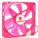 Cooling Fan 140mm Coolmax Red LED