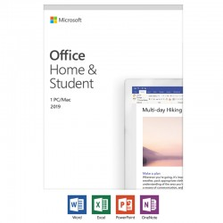 MICROSOFT OFFICE HOME AND STUDENT 2016 1 PC