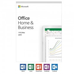 MICROSOFT OFFICE HOME BUSINESS 2016 1 PC