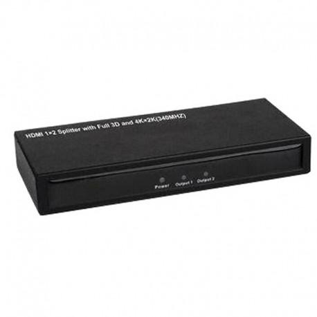 Séparateur Doubleur (Splitter) HDMI 2 Ports 2K/ 4K Full 3D 340MHz