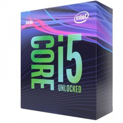 Intel® Core™ i5-9600K Processor 9M Cache, jusqu'à 4.60 GHz
