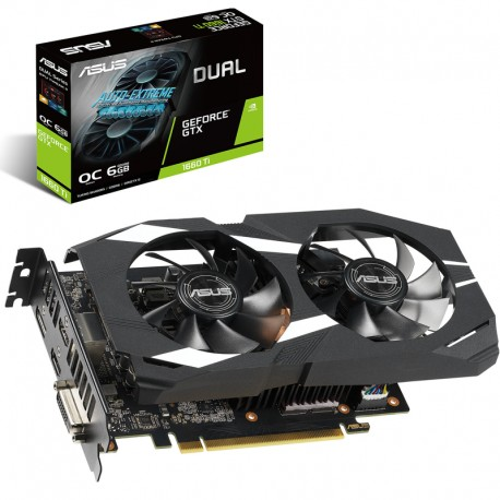 Asus Video Card GTX1060Ti OC 6GB Dual