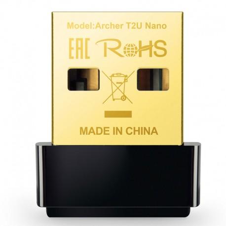 TP-LINK Wi-Fi adapter TP-LINK Archer T2U Nano AC600 2.4 / 5 Ghz