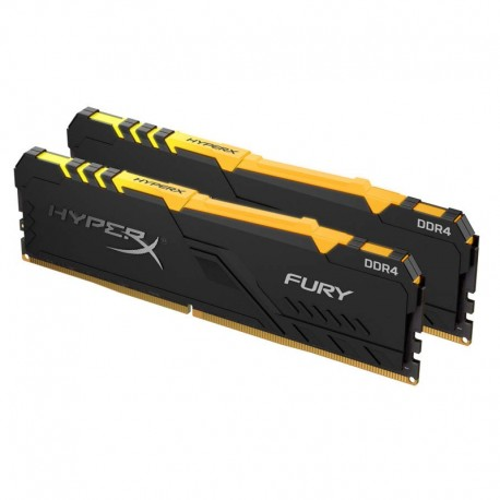 Kingston Memory RGB Fury DDR4 16 GB 2666 (2x8 GB)