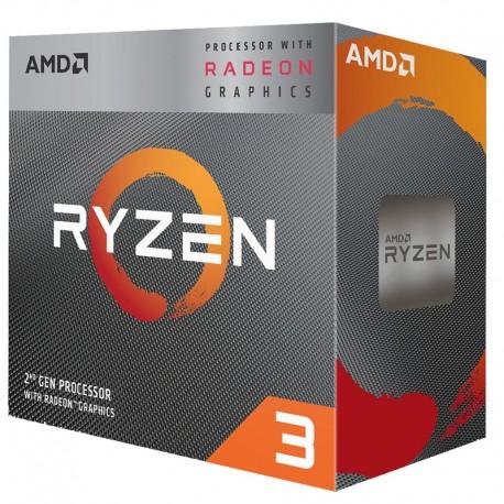 Processor AMD Ryzen™ 3 3200G with processor graphic Radeon™ Vega 8