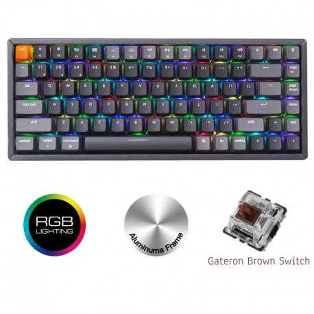 Gamer Keyboard Keychron K2 RGB Brown Switch