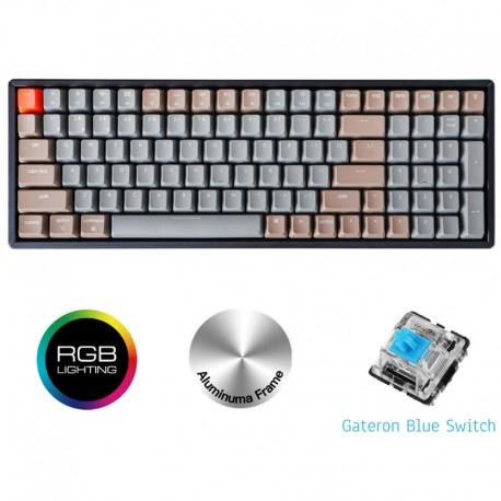 Gamer Keyboard Keychron K4 RGB Blue Switch