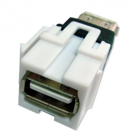 Adaptateur Keystone USB 2.0 A Femelle à A Femelle