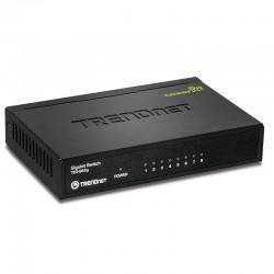 Trandnet 8-Port Gigabit GREENnet Switch TEG-S82g