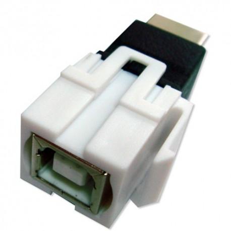 Adaptateur Keystone USB 2.0 B Femelle à B Femelle