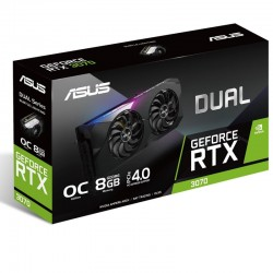 Asus Video Card RTX3070 DUAL OC 8GB