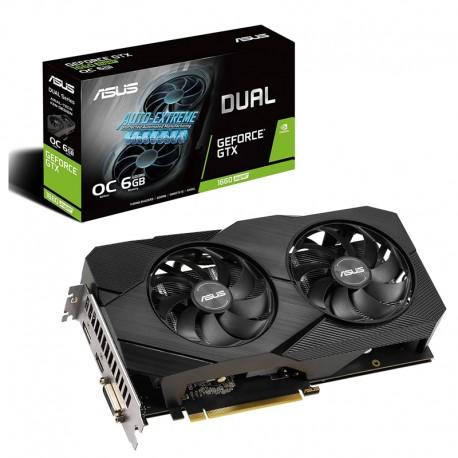 Asus Video Card  GTX1660 OC 6GB Dual SUPER