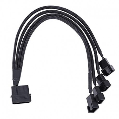 Spliter Cable molex to 4 X 3 / 4  Pins