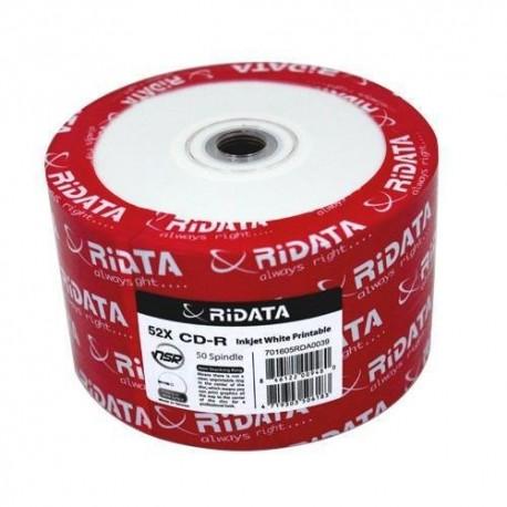 CD-R Ridata Imprimable pqt de 50
