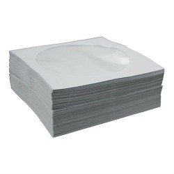 Withe Paper Sleeve Pack 100