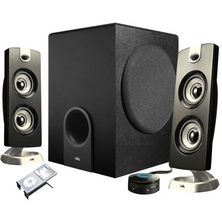 CA-3602 2.1 Subwoofer System - 3pc, 62W