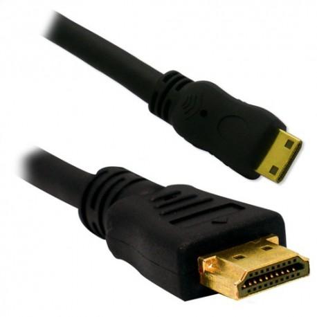 Cable Mini HDMI Male a HDMI Male