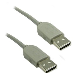 Cable USB 2.0 AA Male/Male 6 pieds