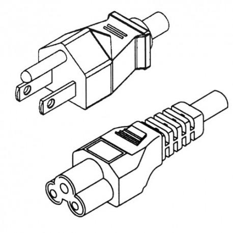 Cable d'alimentation pour Transformateur de Portable