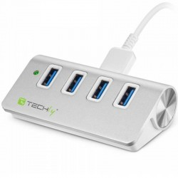 Techly USB 3.0 Super Speed Hub - 4 Port