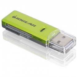 IOGear SD/MicroSD/MMC Card Reader/Writer - GR
