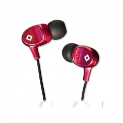 BlueDiamond Sound Isolating Earbuds - Magenta