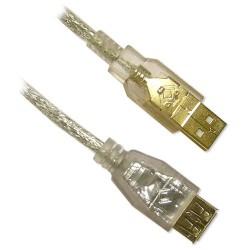 Cable Rallonge USB 10'